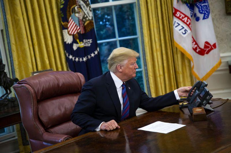 U.S. Stock Futures Rally After Trump-Xi `Big Progress' Phonecall