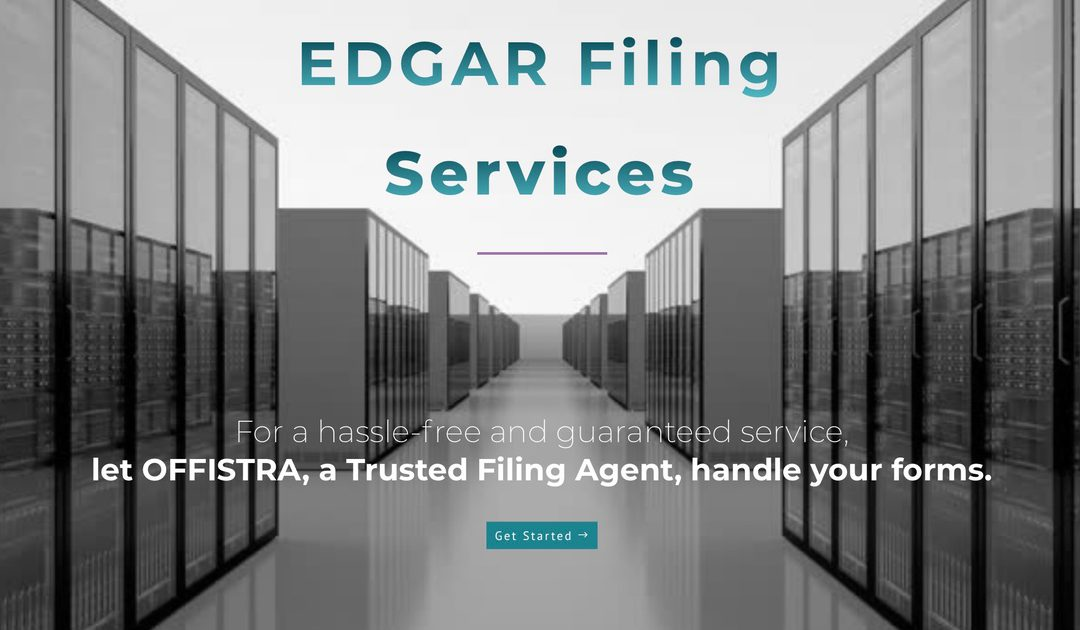 EDGAR Filing Services