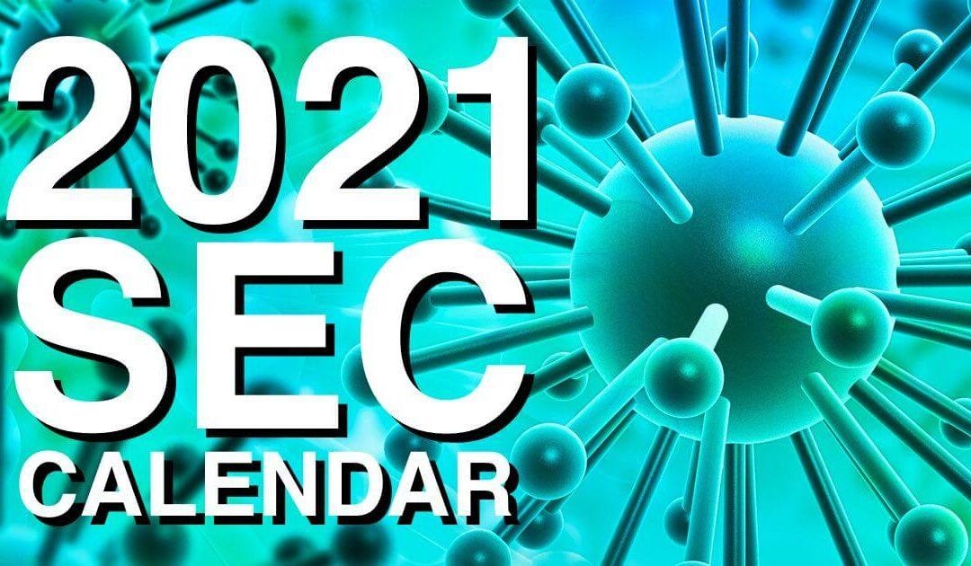 2021 SEC Filing Deadlines