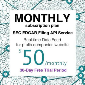Offistra Monthly Plan Data Feed
